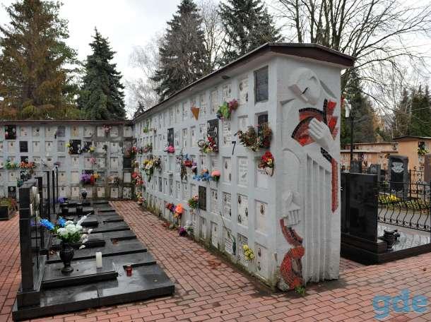 кладбище,стелнка для урн после кремации