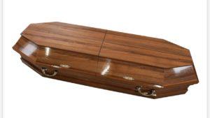 Гроб полированный 4