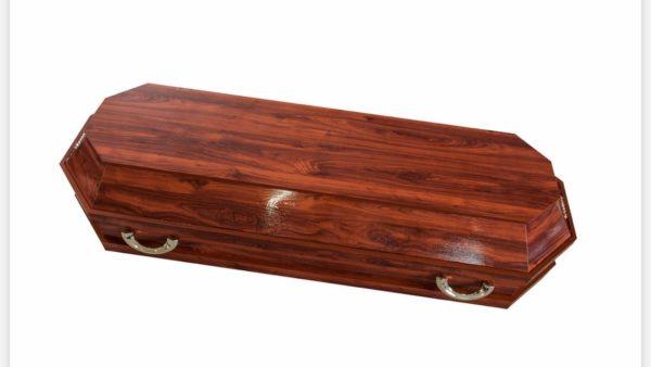 Гроб полированный 6