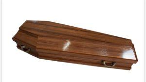 Гроб полированный 8
